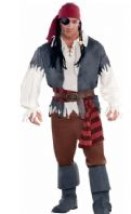Captain Castaway Pirate Costume